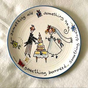 4/$10 Wedding Plate